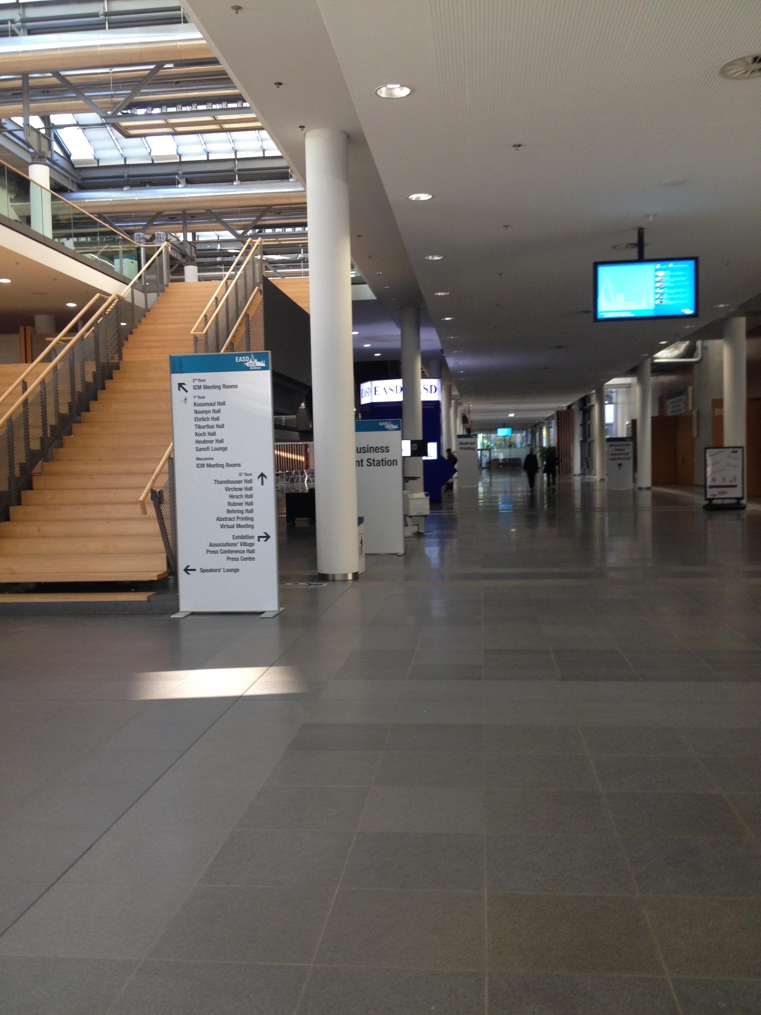 Messe ground-floor