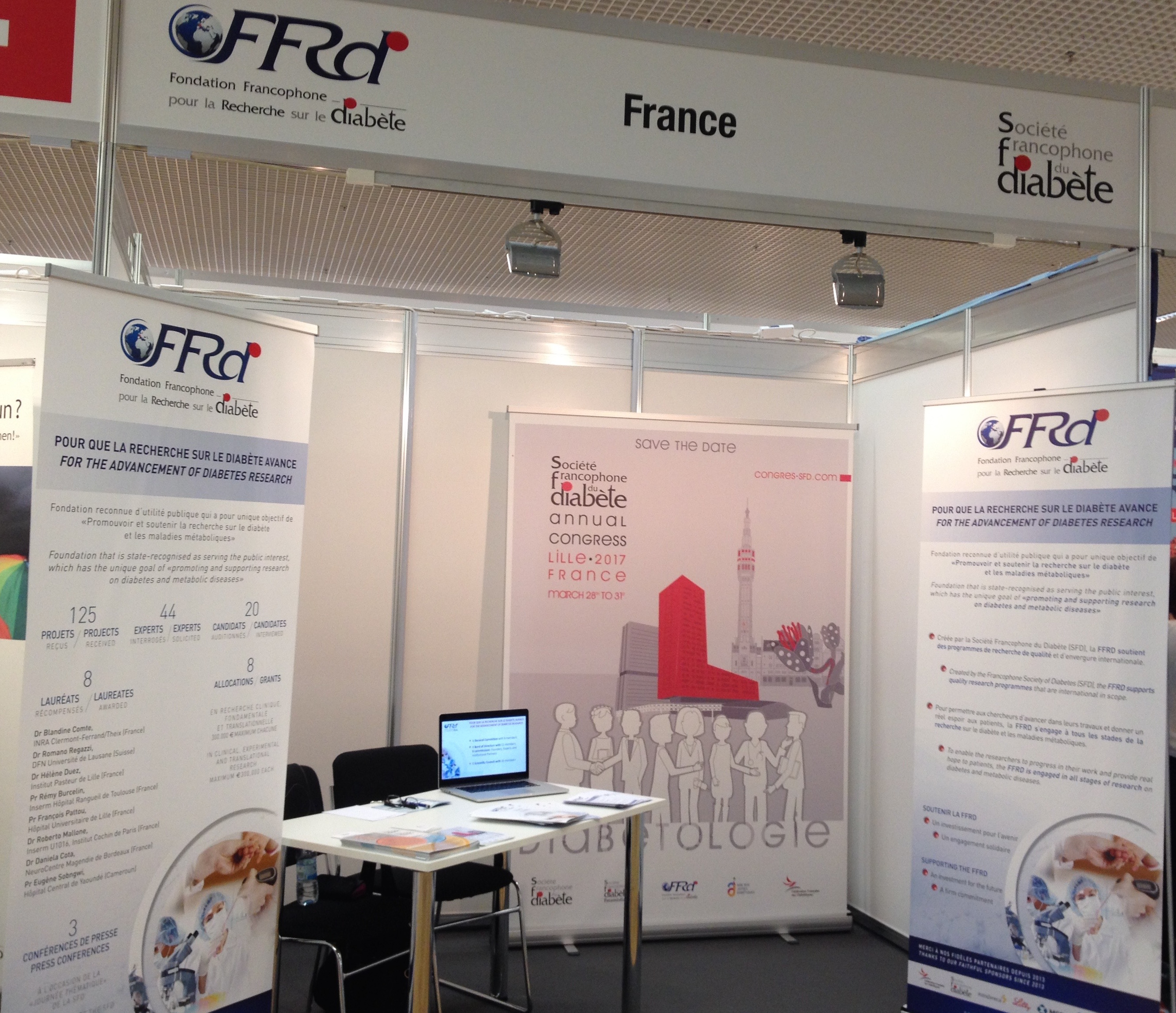 Messe SFD / FFRD booth