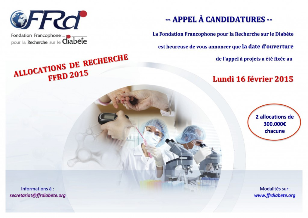 Appel à projets_FFRD-2015-Final